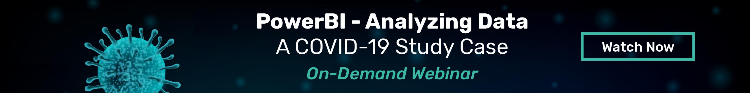 PowerBI - A Covid 19 Study Case