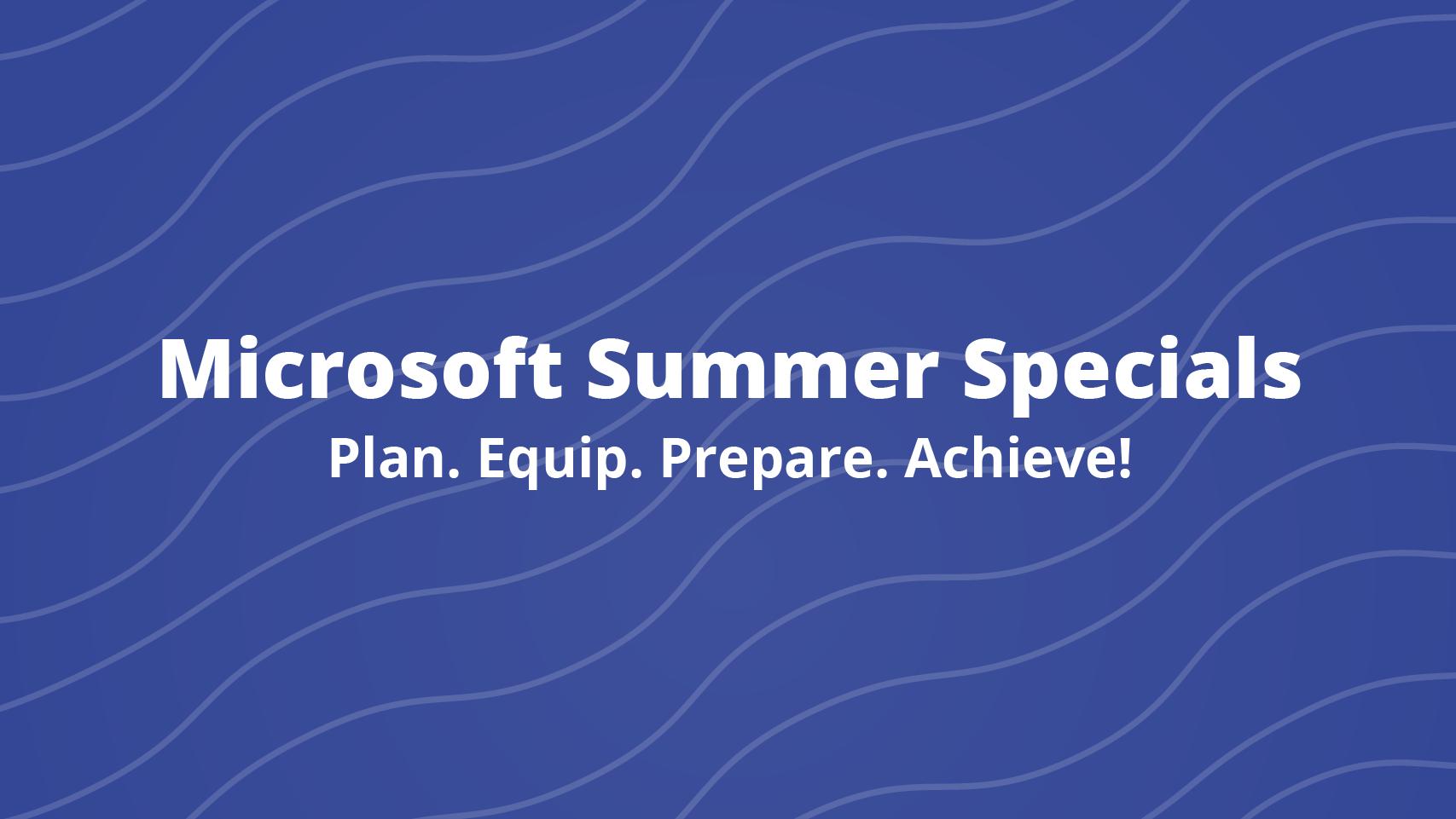 Microsoft Summer Specials