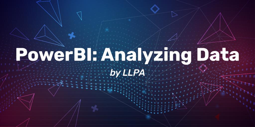Analyze Data with PowerBI