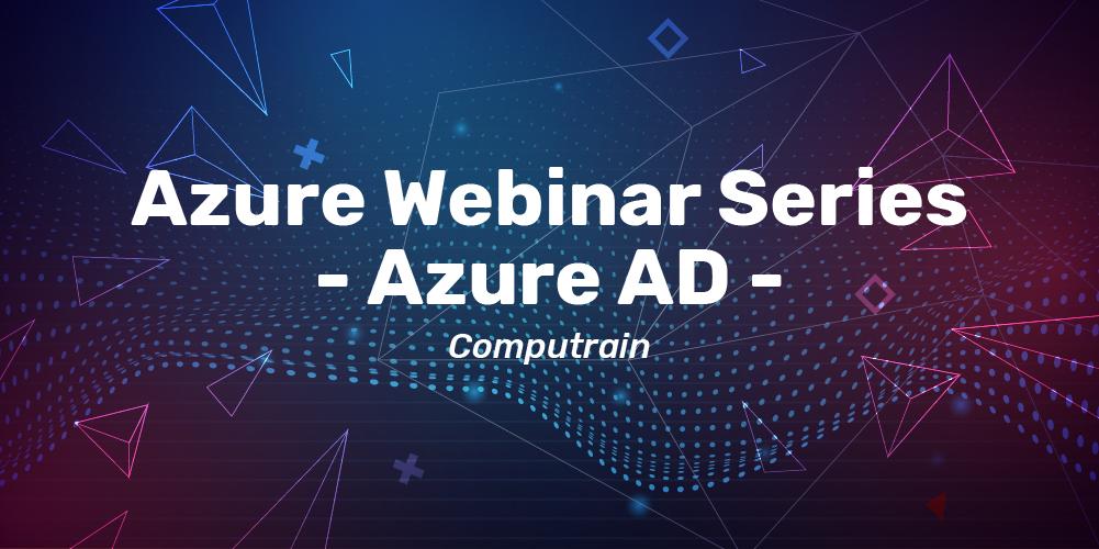 azure webinar series by computrain banner